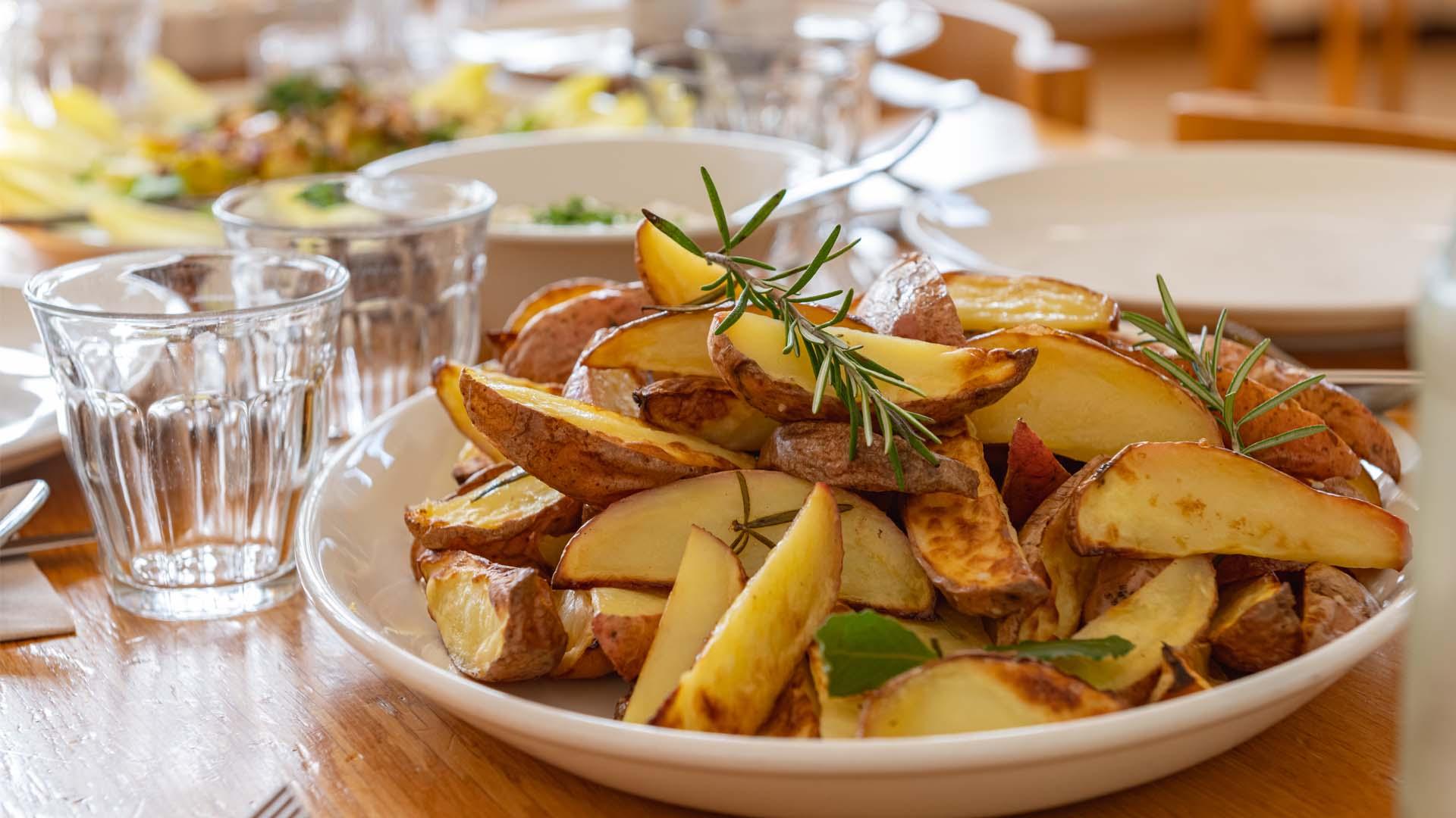 Diner share sharing aardappeltjes roosmarijn patato
