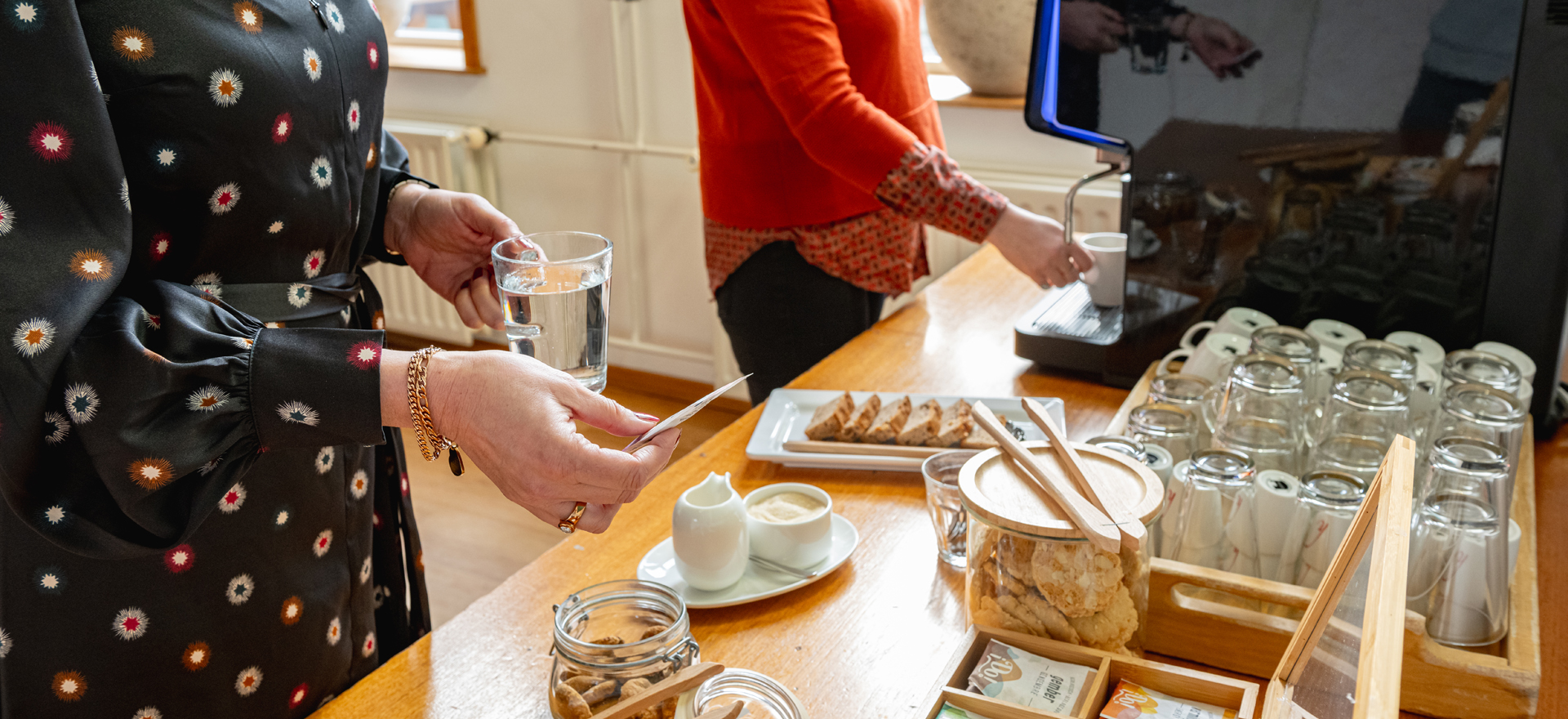 Kloosterhotel ZIN koffie moment rustig thee welkom