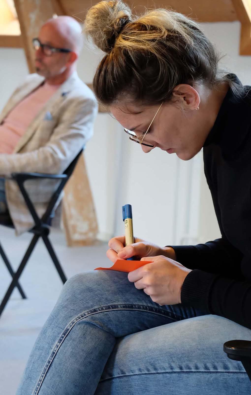 Zin in Werk Compassie workshop schrijven deelnemen training