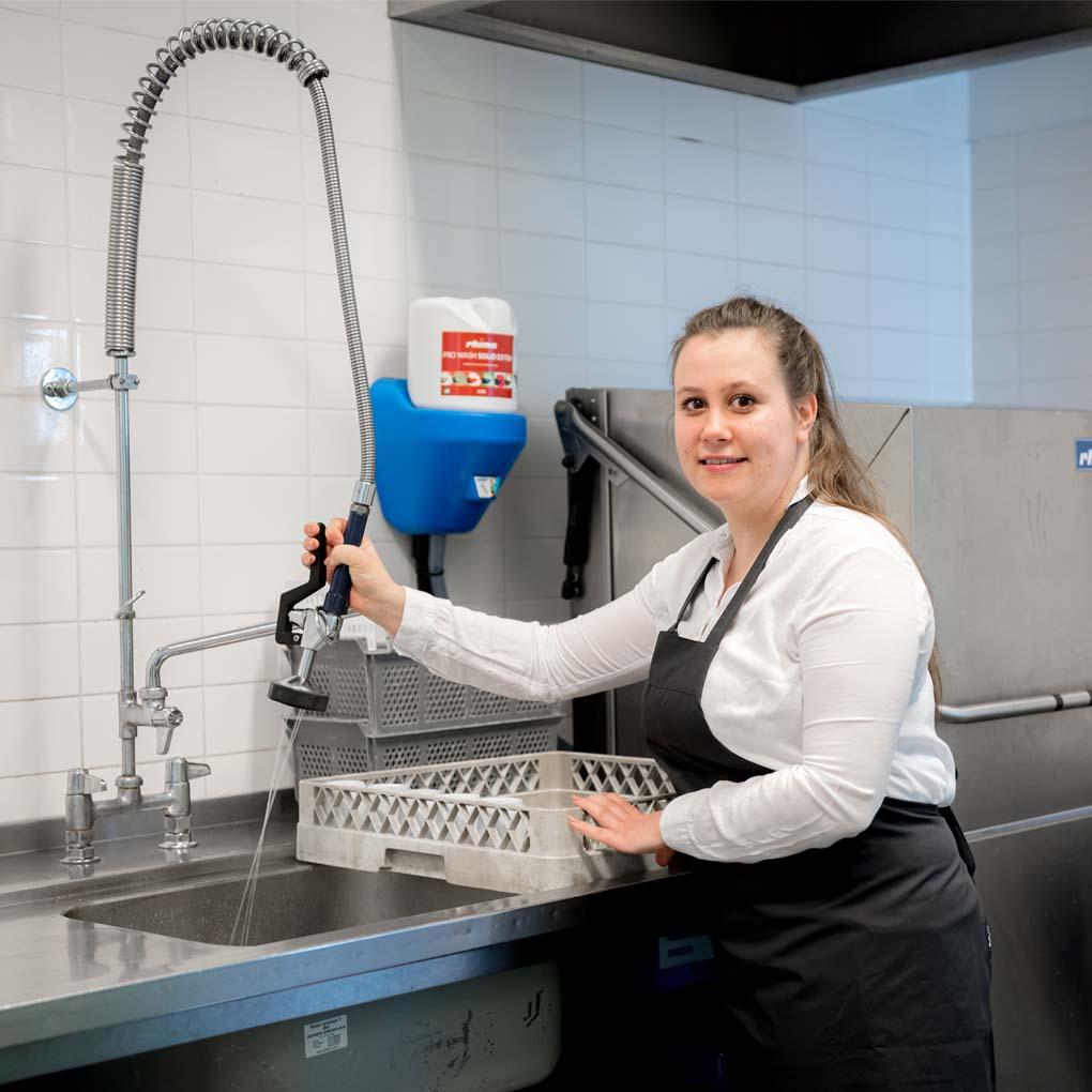 acature vaatwasser schoonmaken spuiten