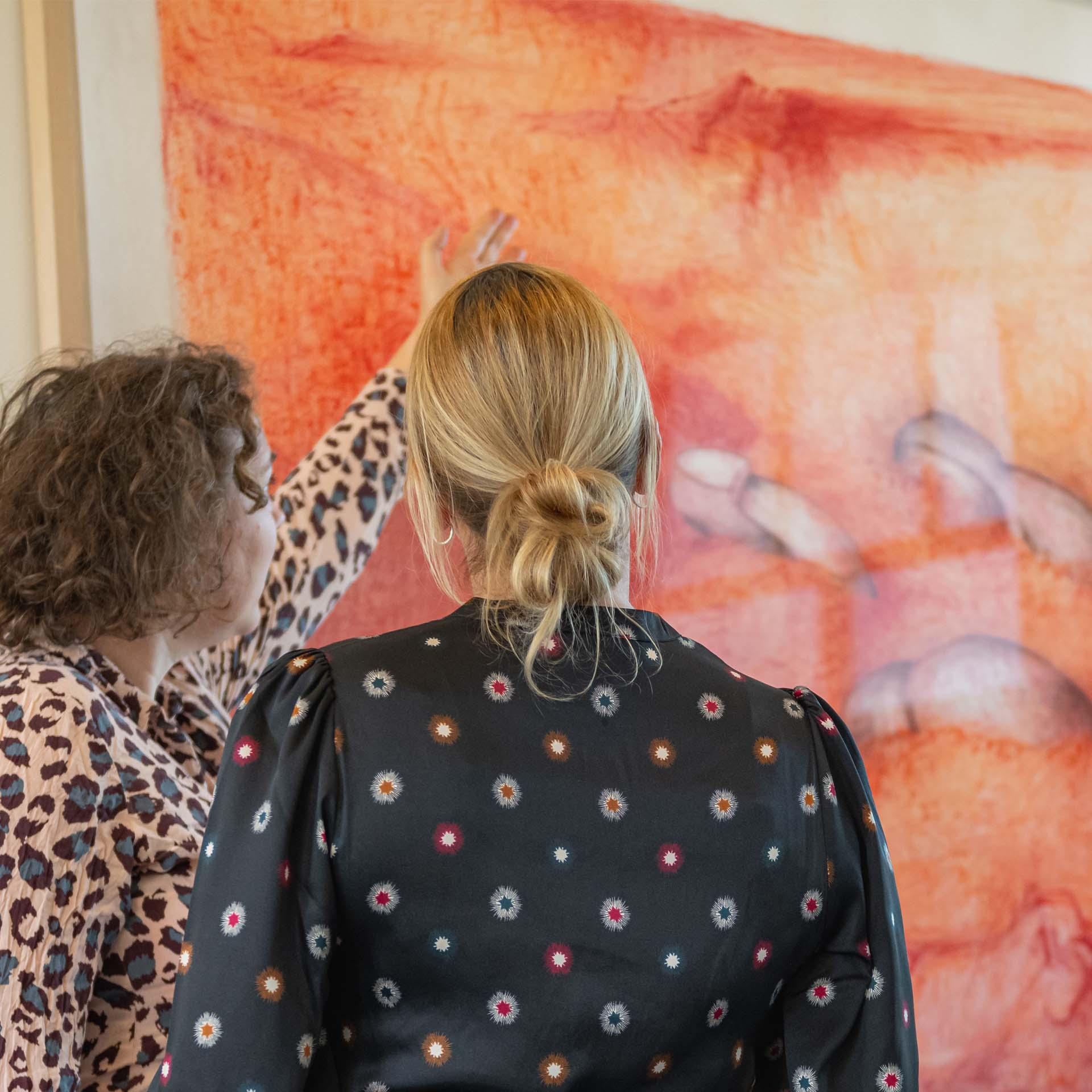 Kunst rondleiding kijken uitleg kunstzinnig ontdekken zingeving