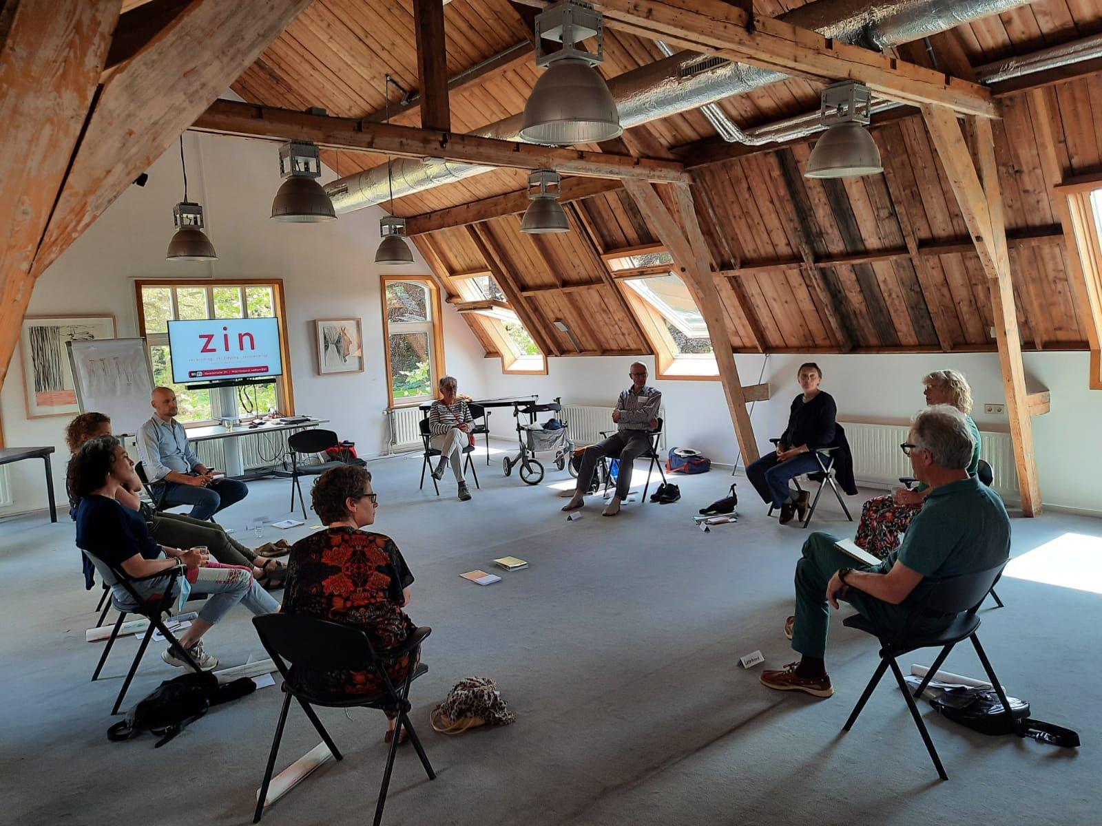 ZIN in Werk Op verhaal komen ouders van een gehandicapt kind workshop tweedaagse samen