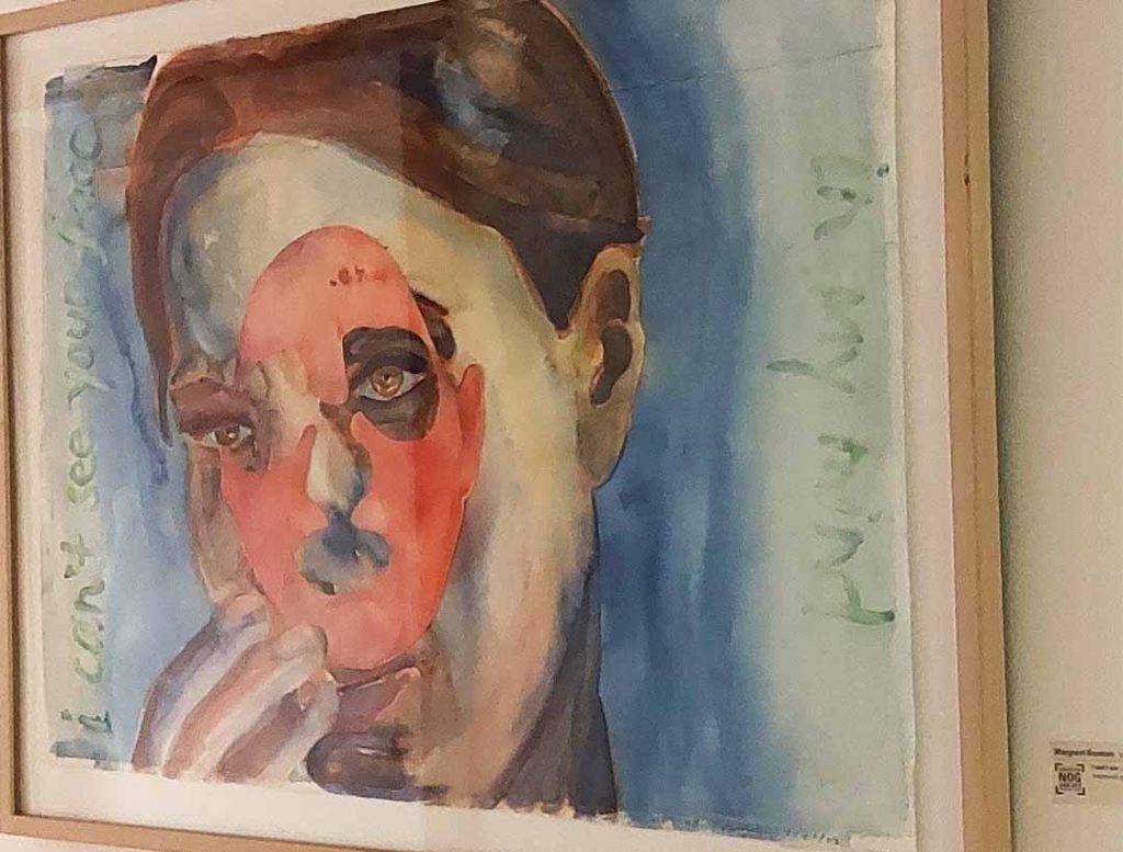 ZIN in Kunst gang tentoonstelling in huis kunstenaar luistertour