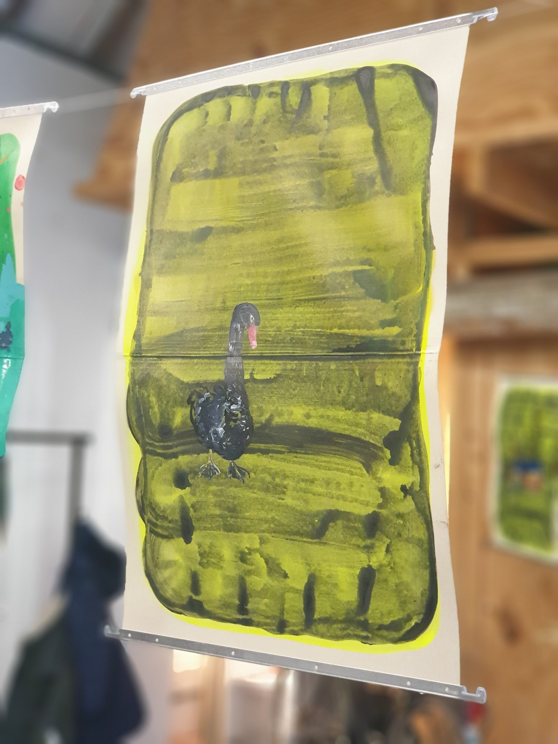 Kunst workshop Lotte van Lieshout Atelier kunstenares artist in residence