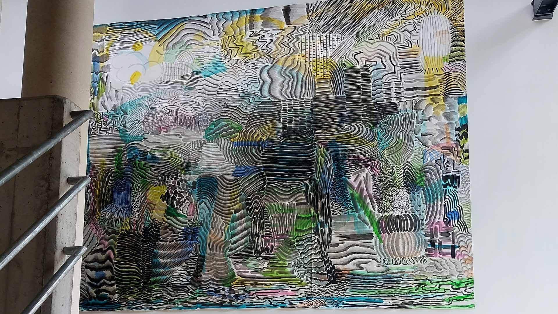 ZIN in kunst schilderij Auditorium NOG collectie Stedelijk museum schiedam